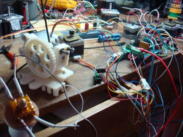 Motor de passo, RAMPS 1,4