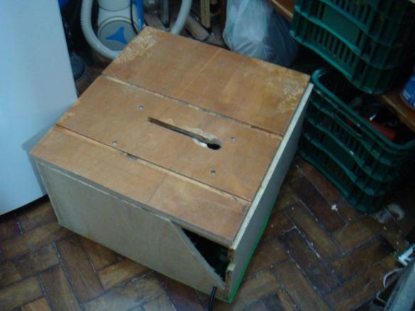 Aspecto final da caixa